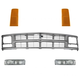1ABGK00006-Chevy Grille and Parking Light Kit