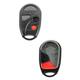 1AKRR00043-2002-06 Nissan Sentra Keyless Remote Insert & Case