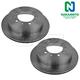 1ABFS01982-Brake Rotor Rear Pair  Nakamoto 31483