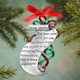 Christmas List Keepsake Pewter Ornament