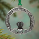 Friendship, Loyalty, Love Pewter Ornament