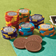 Milk Chocolate Mixed Casino Chips