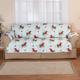 Microfiber Winter Cardinal Sofa Cover