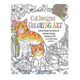 Adult Cat Designs Coloring Art