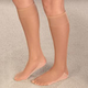 Dry Feet Cotton Sole Knee Highs, 3 Pair