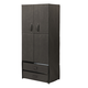 Clothing Wardrobe with Magnetic Doors XL