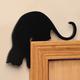 Cat Door Frame Sitters, Set of 2