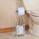Toilet Paper Stand with Storage by OakRidge Accents