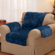 Fine Velvet Chair Protector by OakRidge Comforts