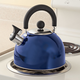 Blue Whistling Tea Kettle by Home-Style Kitchen