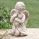 Angel with Cat Memorial Statue