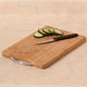 Bamboo Cutting Board With Handle, 8 X 12
