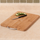 Bamboo Cutting Board With Handle , 11 X 15