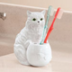 Playful Cat Toothbrush Holder