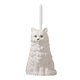 Playful Cat Toilet Brush Holder with Brush