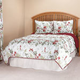 Reversible Ruby Meadow Comforter by OakRidge