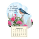 Mini Magnetic Calendar Bluebird