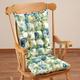 English Floral Microfiber Rocking Chair Set by OakRidge Comforts