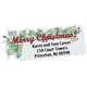 Merry Christmas Labels - Set Of 150