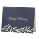 Holiday Berries Non Photo Personalized Card Set of 18