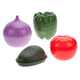 Vegetable Keepers Set of 4