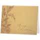Personalized Boughs of Holly Christmas Card Set of 18 Card Only