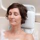 White Lattice Bath Pillow