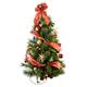 Glittering Scotch Pine Pre-lit Wall Tree