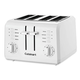 Cuisinart 4-Slice Compact Plastic White Toaster