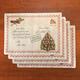 Letter to Santa Vinyl Placemats Set of 4