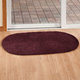 Chenille Solid Reversible Rug
