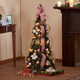 4 ft Pull-Up Victorian Decorated Tree by Northwoods Greenery