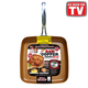 As Seen On TV Red CopperTM 9.5 Square Dance Pan