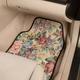 Floral Tapestry Car Mats Set of 4