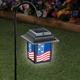 Patriotic Solar Lantern Stake