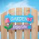 Enjoy Life Garden Sign