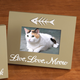 Lighted Live, Love, Meow Picture Frame
