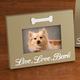 Lighted Live, Love, Bark Picture Frame