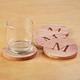 Woodlore Personalized Cedar Coasters Set of 4
