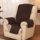 Reverse Plush to Suede Waterproof Recliner Protector by OakRidge Comforts