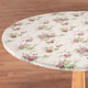 Vintage Floral Vinyl Elasticized Tablecovers by Home-Style Kitchen