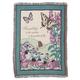 Butterfly Garden Tapestry Throw by OakRidge