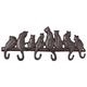 Cast Iron Cat Wall Hooks by OakRidge