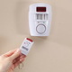 Wireless Infrared Motion Sensor Alarm with Key Remotes