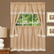 Harwood Embellished Curtain Tier and Valance Set
