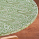 Paisley Vinyl Elasticized Table Cover