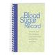 Blood Sugar Tracking Book