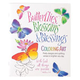 Butterflies Blossoms & Blessings Coloring Book