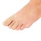Silver Steps™ Antibacterial Toe or Finger Caps, Set of 4