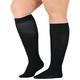 Healthy Steps Wide Calf Compression Socks, 15-20 mmHg